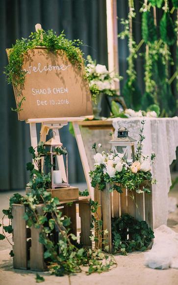 【大山创意婚礼】复古森系小清新婚礼