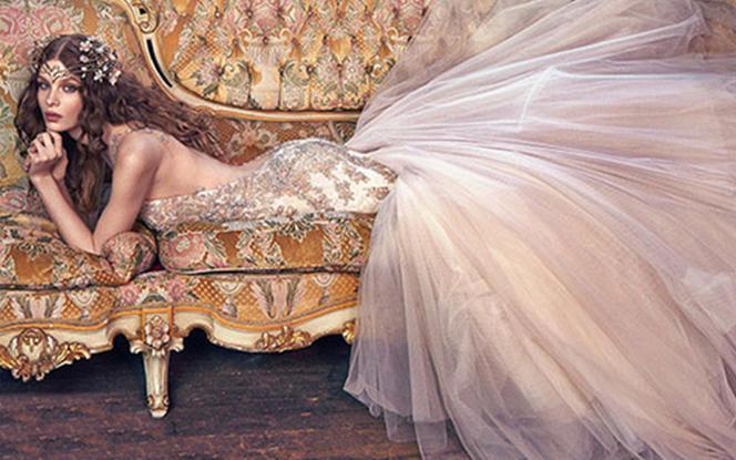 瑞妮婚纱梦幻公主系列定制婚纱