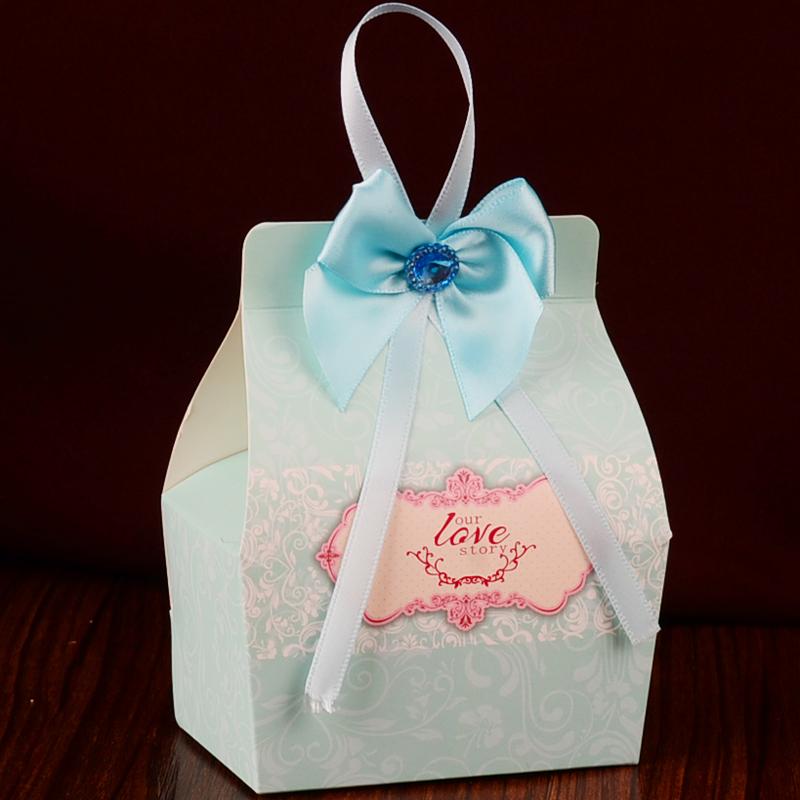 喜糖盒子 喜糖袋 创意包装盒 糖果盒 纸盒