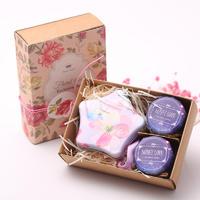 森系喜蜜婚蜜复古创意牛皮纸蜂蜜喜糖盒成品婚礼伴手礼回礼蜂喜缘