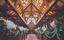 预定就送别墅和餐!19999元三亚云顶教堂婚礼