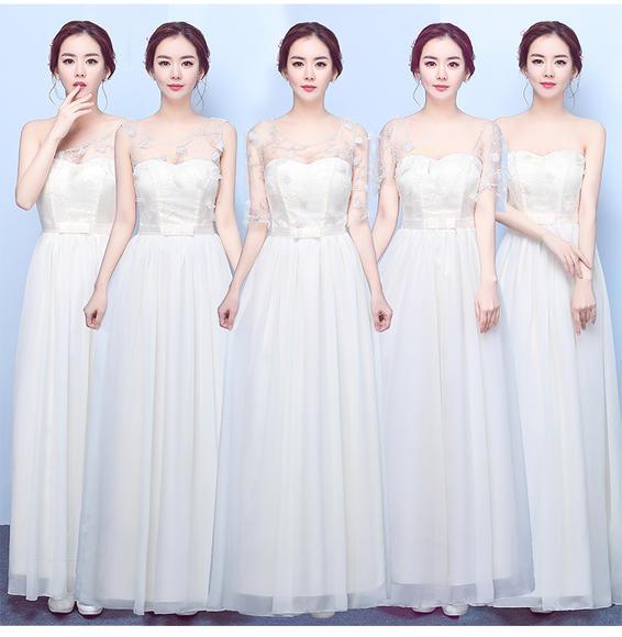 伴娘服长款 新款伴娘团礼服长裙宴会姐妹裙夏季伴娘礼服