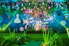 唯美森系婚礼:公主的童话森林