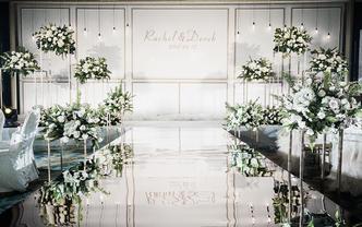 雨薇婚礼丨清新白绿线条感婚礼《绿意》