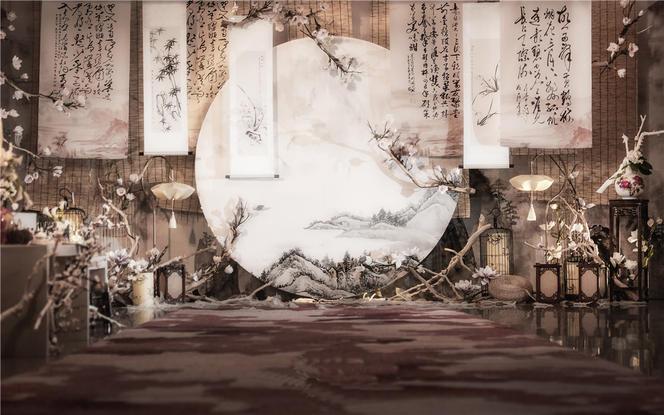 南风来丨DreamPark·创意山水新中式系婚礼