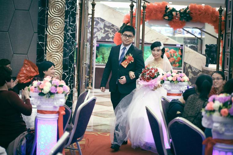 【婚礼跟拍】今日的阳光下,你是最美的新娘
