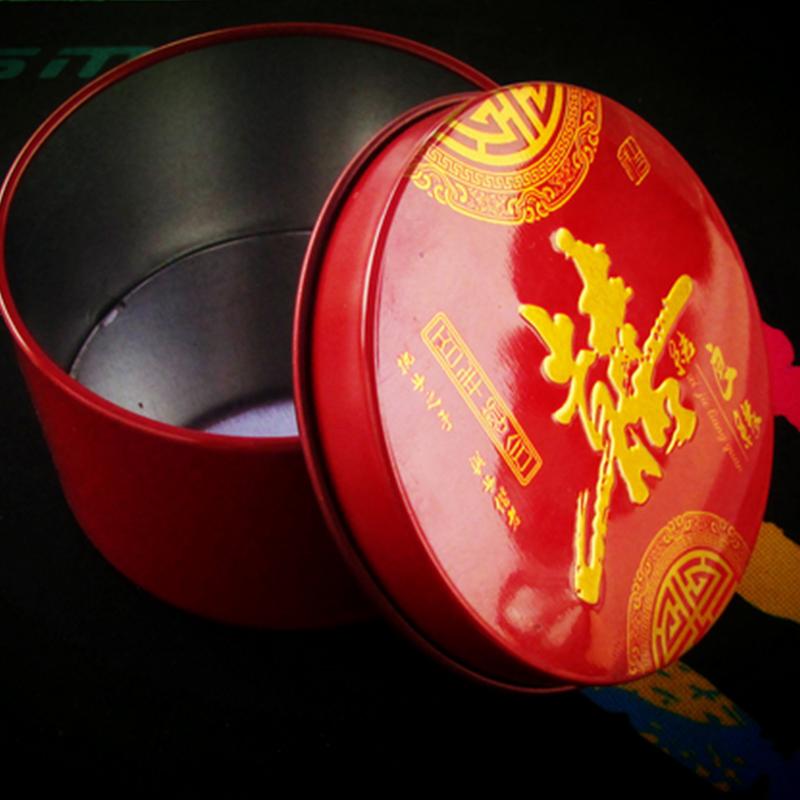 结婚庆用品创意喜糖盒子新款婚礼欧式个性圆筒圆形马口铁糖219