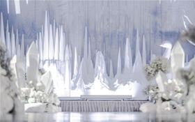 【高品艺术婚礼】-纯白爱恋 欧式婚礼风