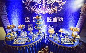 【铂爵欧式婚礼】古典宫廷撞色设计