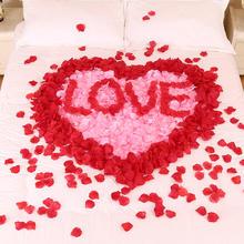 100片-仿真花瓣玫瑰花路引婚礼求婚布景装饰花假花地毯