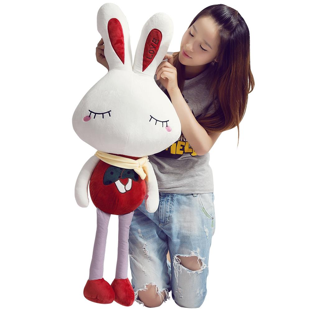 可爱小兔子毛绒玩具公仔兔子布娃娃儿童礼品婚庆结婚