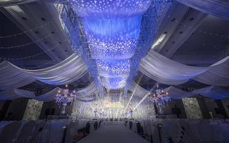 【LEAF丽芙婚礼】纱幔灯光营造的浪漫奢华婚礼