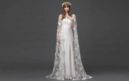 蝶恋花系列租赁婚纱+礼服(三件套)包含新娘跟妆