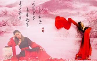 中式传统婚礼-日月锦传承人天女祈福