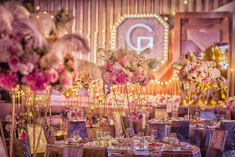 欧式金色系奢华大气婚礼