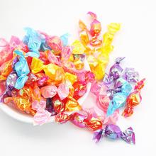 糖果千纸鹤糖果彩色袋千纸鹤糖果亮晶晶水果糖500g袋320颗