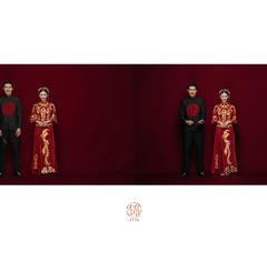 国粹来袭华美中式婚纱照