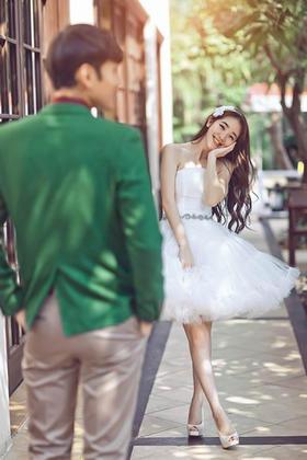 原映像三亚唯美小清新婚纱照
