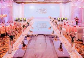 蜜和—【粉红色】含三大金刚  浪漫少女粉婚礼