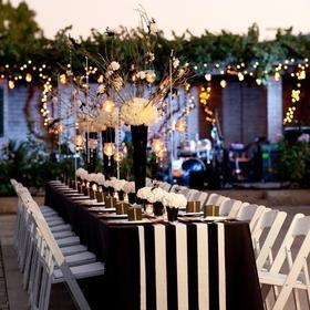 浪漫爱都-【黑白极致婚礼】-撞色创意时尚婚礼