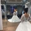 婚礼倒计时!出门纱未选定 白纱太露中式无感好捉急!