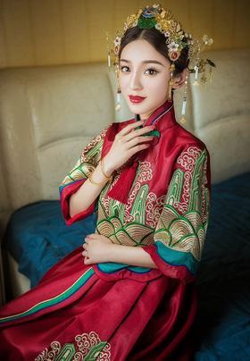 【超值租凭套餐】秀禾+仪式大托+敬酒服+伴娘服