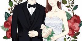#免费设计婚礼头像logo# 最甜蜜情侣征集
