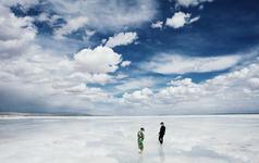 茶卡盐湖『青海旅拍景点+茶卡盐湖+风车+草原』