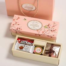 结婚礼盒伴娘伴手礼个性结婚森系喜糖盒成品含糖回礼创意礼盒定制