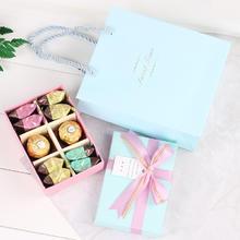 臻忆美创意婚礼明治费列罗喜糖盒含糖结婚伴手礼歌斐颂喜糖成品