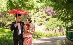 【中式婚纱礼服】十里红妆----一生一世一双人