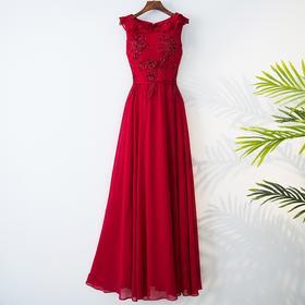长款显瘦优雅新娘结婚晚礼服女