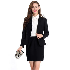 包臀半身裙一步裙短裙西装裙工装裙商务面试裙夏季职业裙395