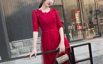 敬酒服新娘夏季结婚新款红色回门服长款婚礼宴会晚礼服连衣裙