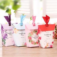 20个】婚礼喜糖盒婚庆用品喜糖包装欧式森系喜糖盒子