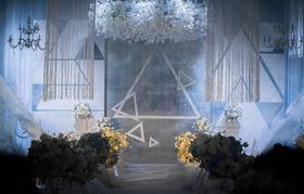 闪烁的蓝宝石---宁波格调婚礼策划