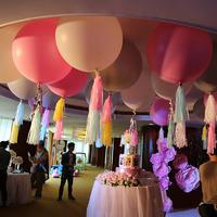 超大36寸气球婚礼布置拍照道具 草坪婚礼装饰品婚宴装饰气球