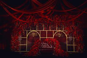 【吉浩婚庆】--倾城魅影 红色鲜花主题婚礼