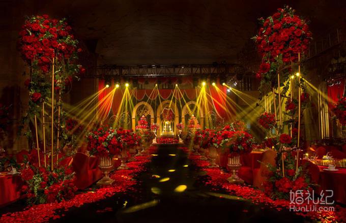 【梦享婚礼】复古欧式红金婚礼 流年