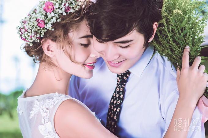 米兰风情 欧式城堡+浪漫韩式+唯美夜景+私人订制婚纱