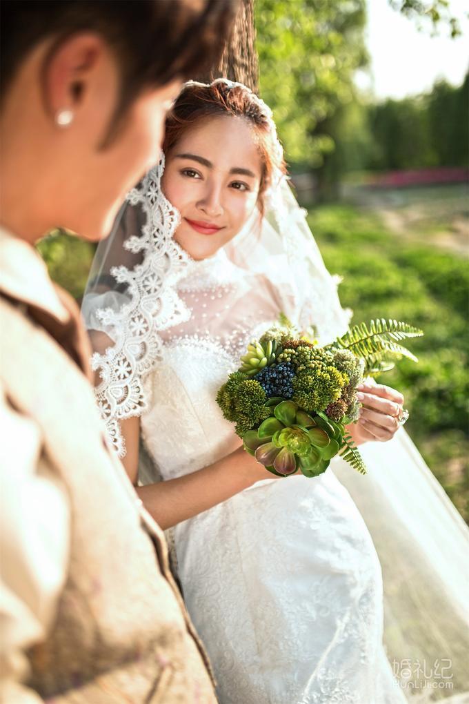 """长沙婚纱摄影套餐 >【纯色摄影】欧式牧场复古田园风""""最好的我们""""婚纱"""