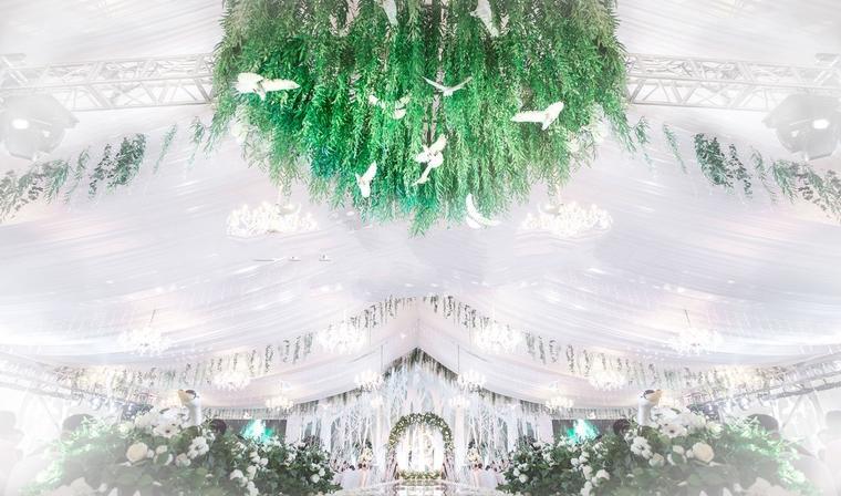 【喜悦来婚典】清新唯美森系婚礼《飞鸟集》