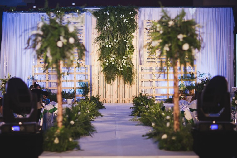 小清新婚礼布置
