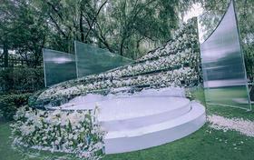 【VOWS】—旋转||新式草坪婚礼,超多花艺