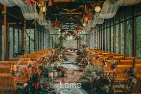 【Lomo 创意婚礼】话诗东篱下