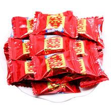 阿尔卑斯糖果婚庆红色喜字散装500g牛奶糖硬糖结婚约136颗