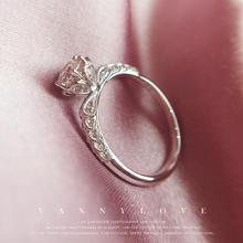 梵尼洛芙-公主 丨独家设计款丨轻奢公主系列丨钻戒