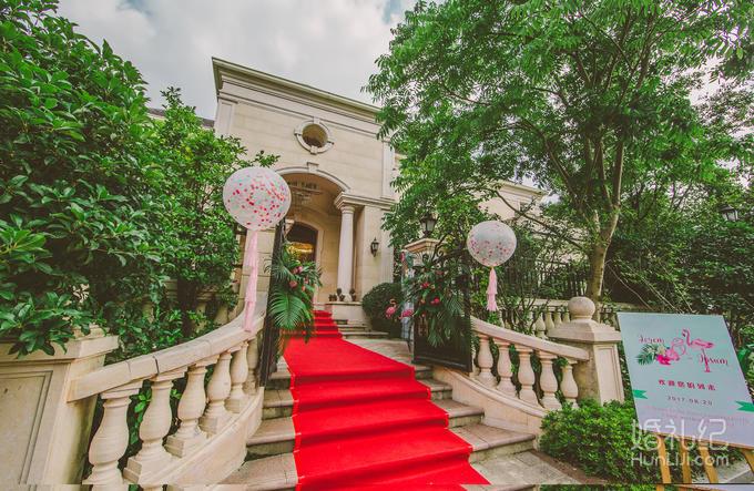 【米尔婚礼】私人订制《奢华火烈鸟别墅派对》纯布置