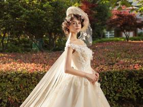 SaintDenis2018莫奈花园 欧式婚纱