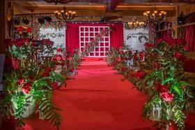 滨湖明明仔复古红色系高端婚礼